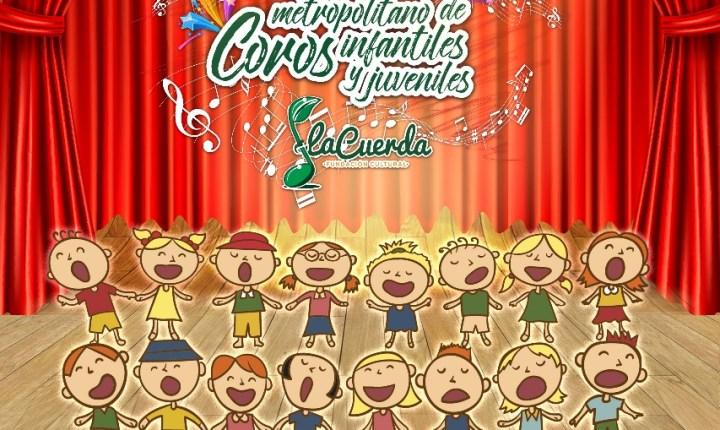Tercer Festival metropolitano de coros infantiles y juveniles