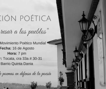 Lectura de poesías en Bucaramanga