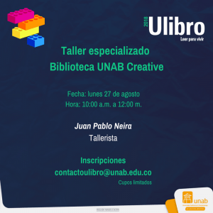 Talleres Ulibro 2018