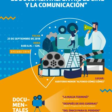 """CONVERSATORIO: """"EL DOCUMENTAL: ENTRE EL CINE Y LA COMUNICACIÓN"""""""