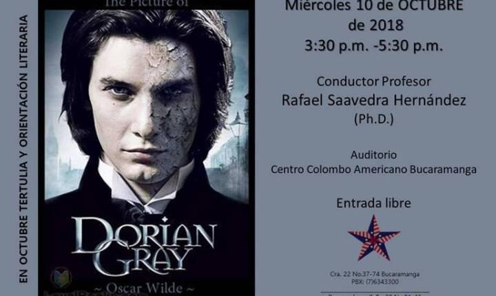 """Tertulia: libro """"El Retrato"""" de Dorian Gray"""