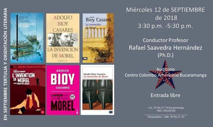 Tertulia y orientación literaria en Centro Colombo Americano