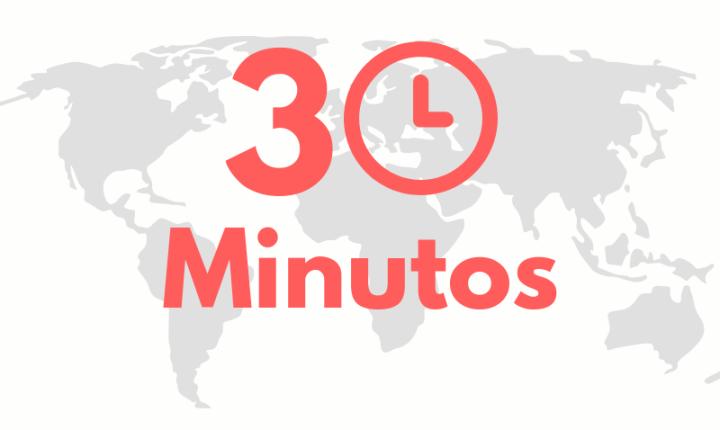 30 minutos: 4