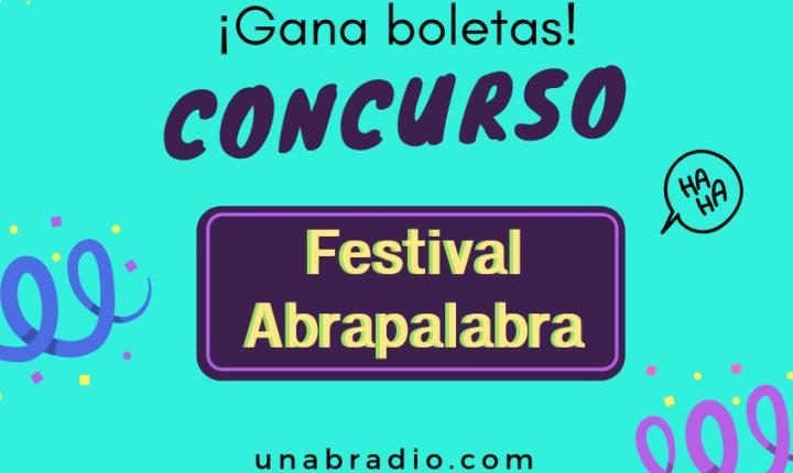 Concurso: Boletas Festival Abrapalabra 2018