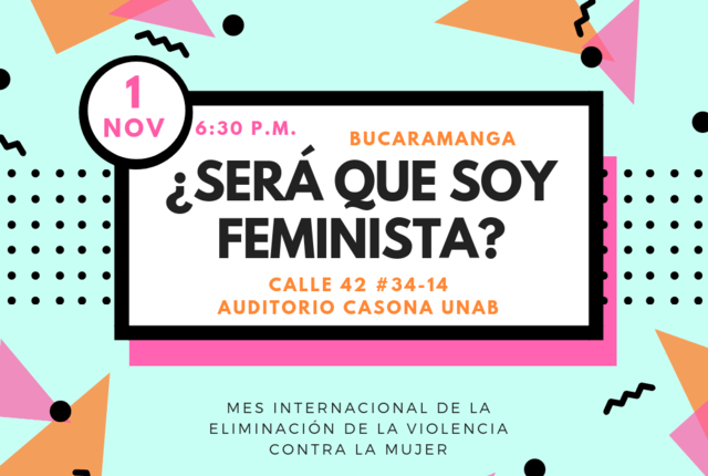 "Conversatorio: ""¿Será que soy feminista?"