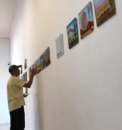 """""""Manos en la obra"""" expone realizaciones artísticas en vivo"""
