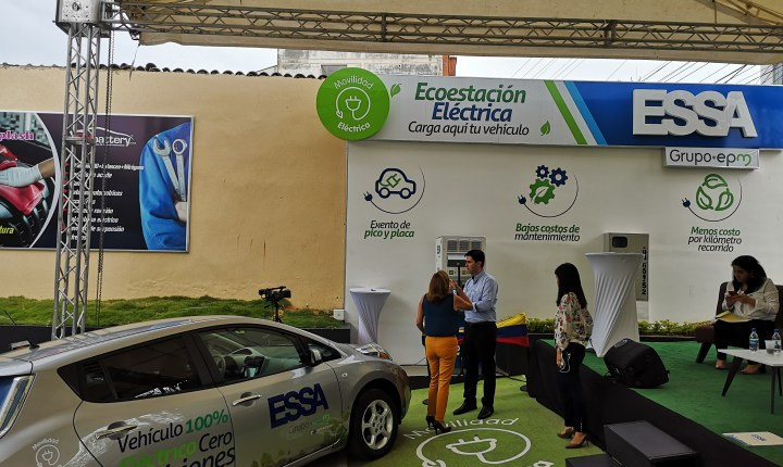 Ecoestación vehículos electrónicos