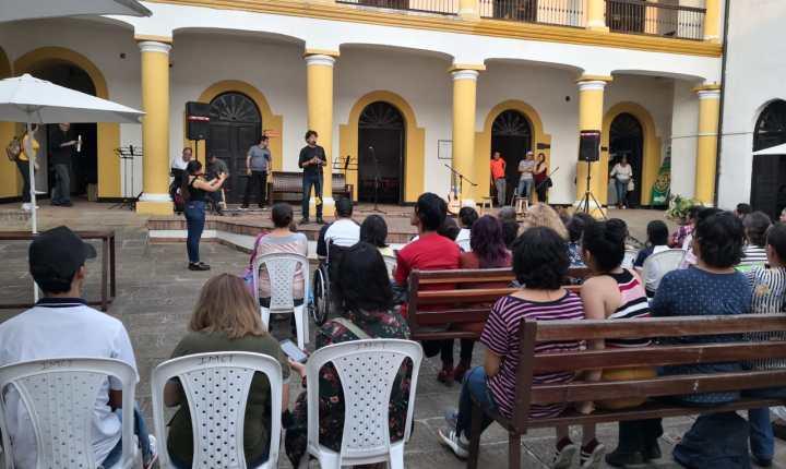 El programa de teatro de la Escuela Municipal de Artes celebró el día mundial del teatro con muestras escénicas