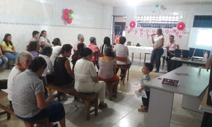 Actividades educativas sobre derechos humanos en el barrio Manuela Beltrán