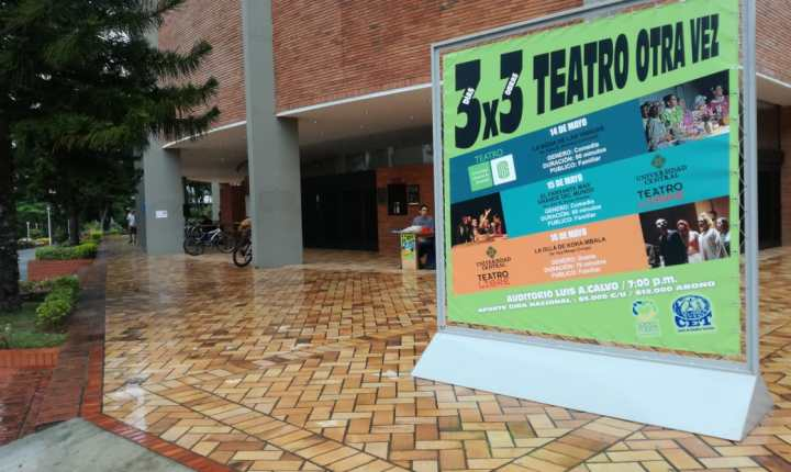 """""""3×3: Teatro otra vez"""""""