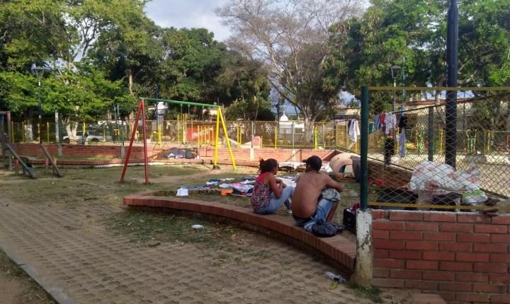El Parque Romero se encuentra sumido en la delincuencia y la miseria