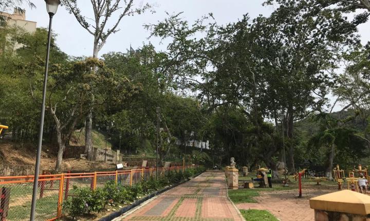El mal estado del Parque Carlos Virviescas ha disminuido el flujo de visitantes