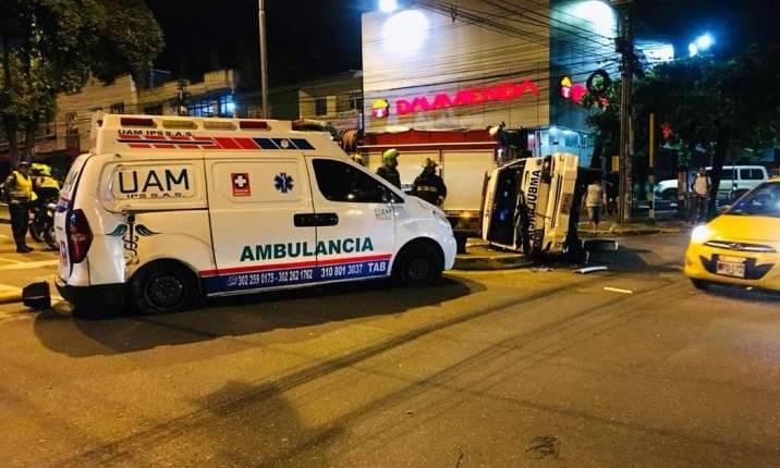 Servicios de emergencia en Bucaramanga tienen dificultad de desplazamiento