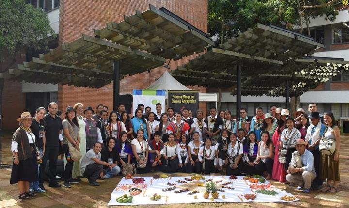 Segunda Minga de Saberes Ancestrales de Cabildos Indígenas Universitarios de Colombia