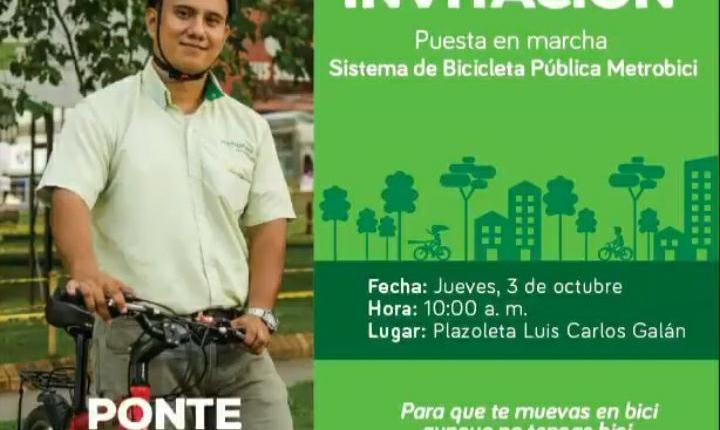 Metro Bici una iniciativa de movilidad sostenible en Bucaramanga