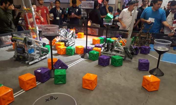 Primer torneo departamental de robótica en Bucaramanga