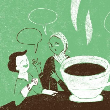 Conversatorio en Café Total