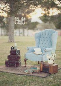 decoración retro para bodas