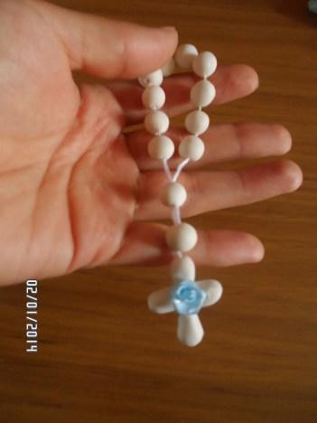 rosario de porcelana fria paso a paso