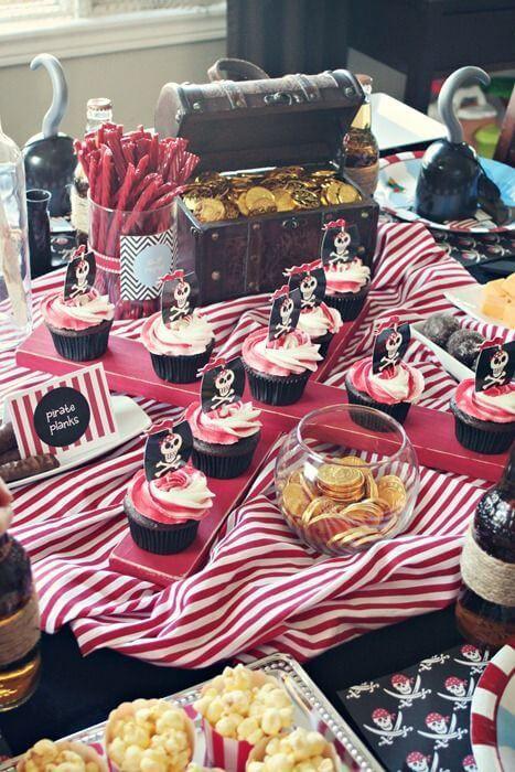 ideas para un cumpleaños pirata