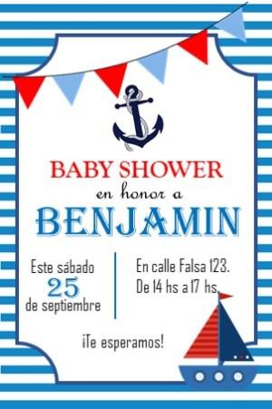 invitacion digital baby shower