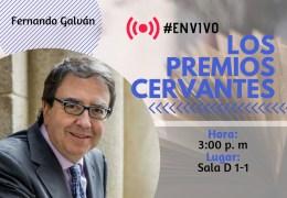 Conferencia 'Los Premios Cervantes'