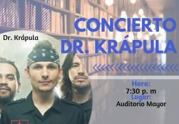 Presentación musical y artística Dr. Krapula