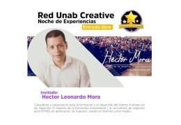 Noche de Experiencias. Hector Leonardo Mora – Consultor de Negocios