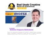 Noche de Experiencias. Antonio Chaparro Ballesteros – Gerente de Endesa Mas Fácil