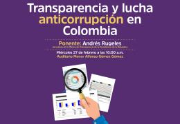 Transparencia y lucha anticorrupción en Colombia