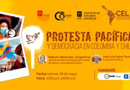 Protesta Pacífica y Democracia en Colombia y Chile.