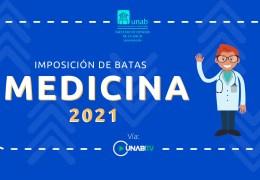 Ceremonia de culminación de décimo semestre e imposición de batas 2021-10
