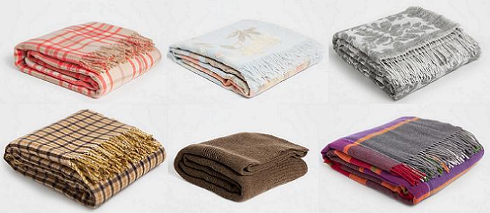 Mantas zara home mantas zara home imagen del producto for Zara home mantas