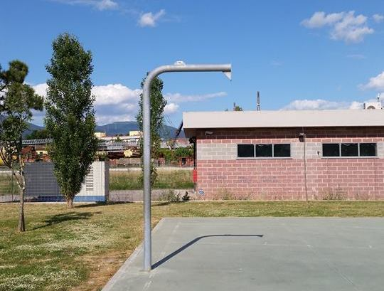 Question time: Campo da basket in via di Piaggetta