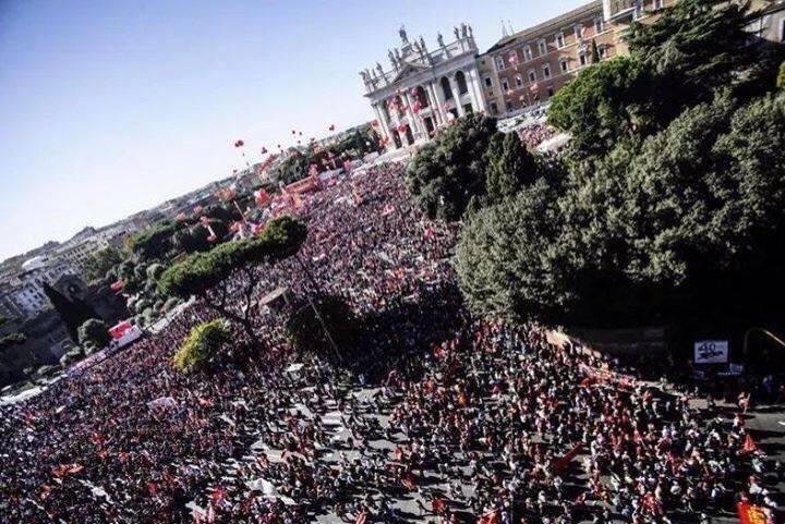 Dopo il 24 e 25 ottobre rilanciamo la lotta contro il Governo Renzi, con le mobilitazioni e lo sciopero generale