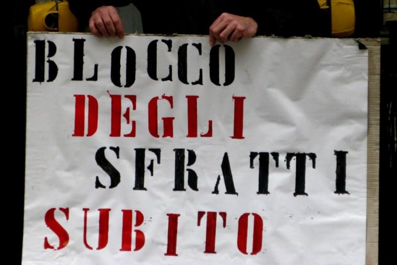Da pisa a Pontedera da Cascina a San Giuliano: É indispensabile la sospensione degli sfratti con la forza pubblica
