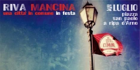 RIVA MANCINA: un'occasione per continuare a costruire la città in comune