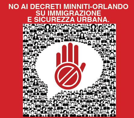 Decreto sicurezza Minniti – Orlando: il sindaco di Pisa rivendica paternità di politiche fallimentari e inique