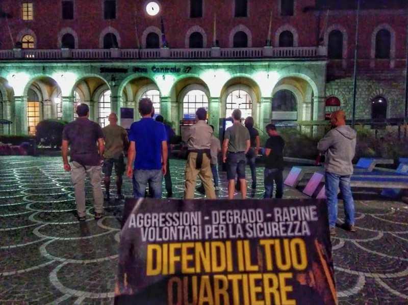 Forza nuova: altro che passeggiate, una squadraccia fascista diffonde odio e violenza