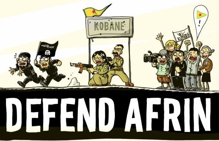 Mozione urgente: Sostegno alle popolazioni di Afrin e di Rojava