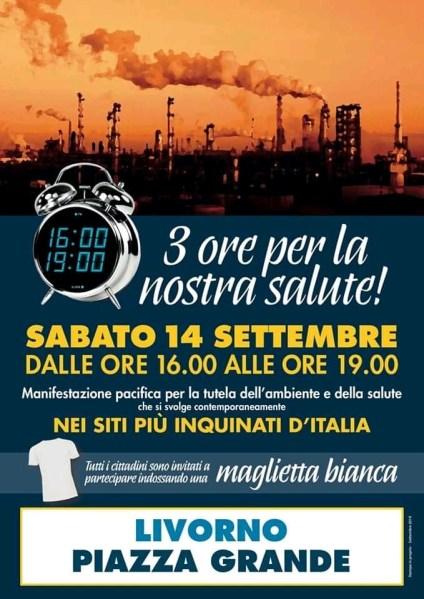 La salute e la tutela dell'ambiente prima di tutto. Con la cittadinanza in Piazza Grande a Livorno