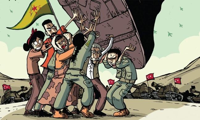 APPELLO NAZIONALE DELLE AMMINISTRATRICI E DEGLI AMMINISTRATORI LOCALI: NON LASCIAMO SOLO IL POPOLO CURDO, FERMIAMO L'ATTACCO TURCO IN SIRIA.