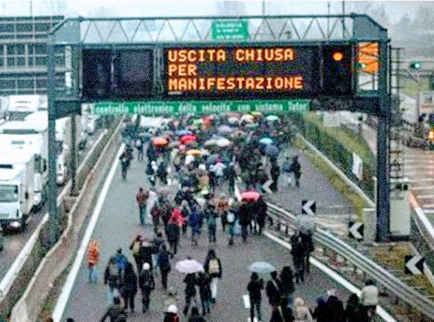 """Decreti Salvini e """"blocco stradale"""": odg nei consigli comunali contro la norma e a favore dei lavoratori colpiti."""