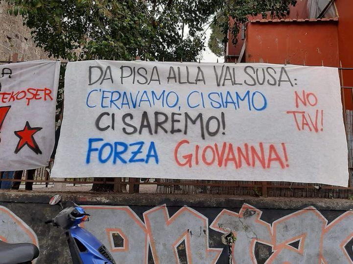 """Solidarietà di Una Città in Comune a Giovanna e al Movimento No Tav: """"Basta con l'occupazione militare del territorio!"""""""