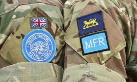 UK Peacekeeper Badges
