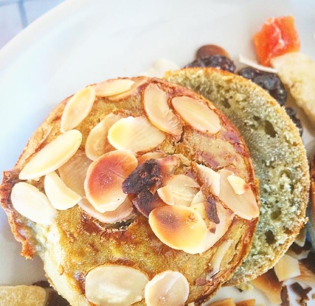 Muffin/pain MATCHA et citron