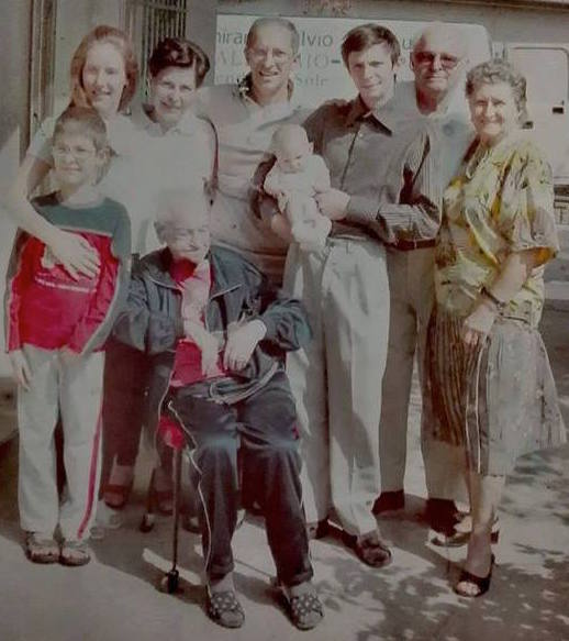 alt=Lisa Bortolotti - famiglia