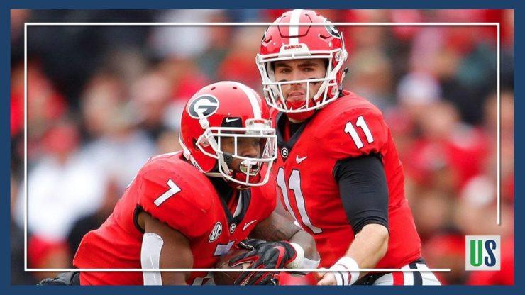 Georgia Bulldogs College Football Rankings Top 10