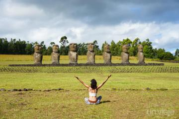 Ahu Akivi - Isla de Pascua