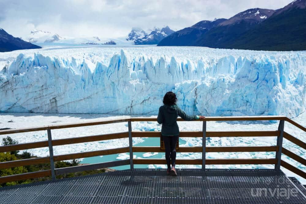 Que visitar en Argentina - terrazas - pasarelas Glaciar Perito Moreno